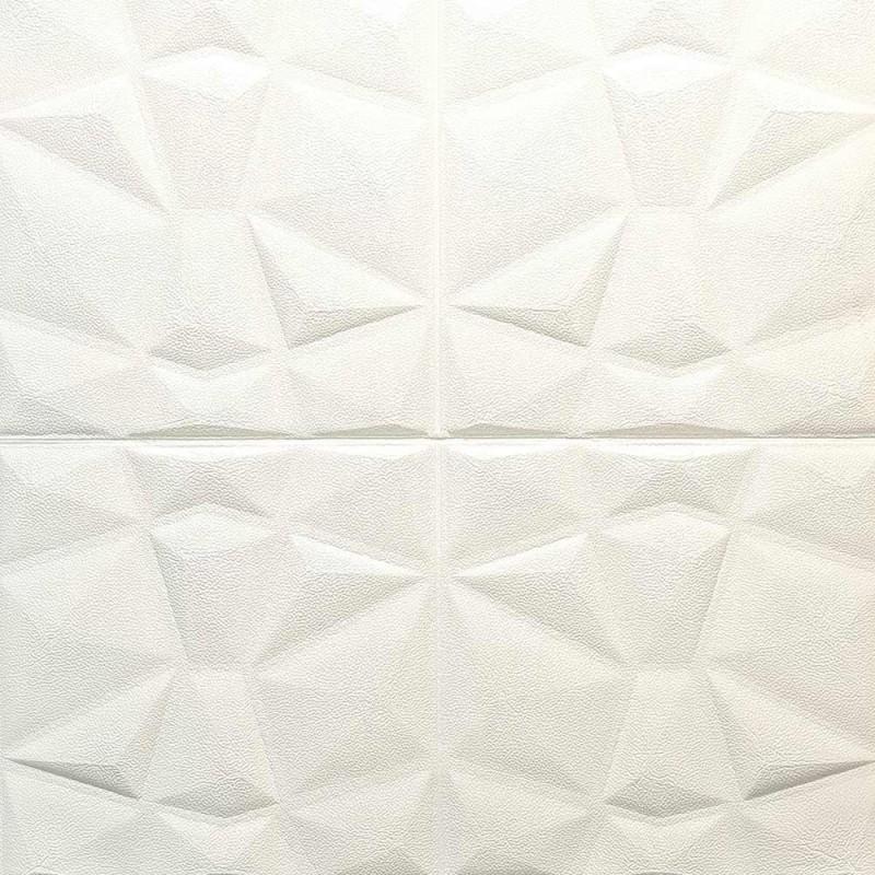 دیوارپوش فومی طرح ستاره سفید مدل 37