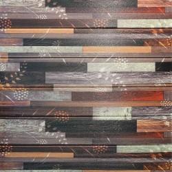 دیوارپوش فومی طرح آنتیک قهوه ای مدرن مدل 59